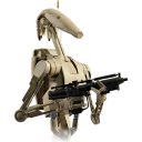 Battle droid wars starwars