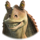 Jar binks wars starwars
