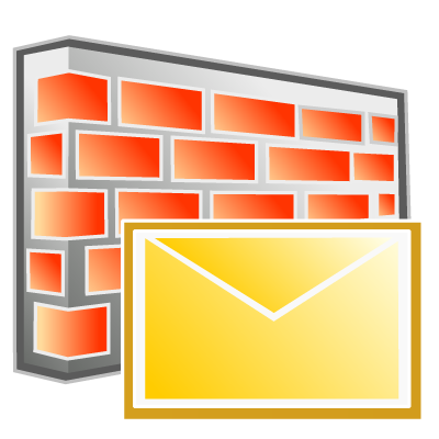 Email block firewall filter