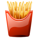 French junk food fast food fries food