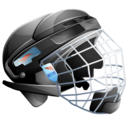 Hockey ice helmet