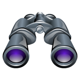Zoom find search binoculars