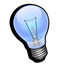 Bulb Light Idea Sunny Day General Icons 128px Icon Gallery