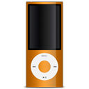 Apple ipod orange