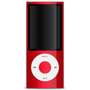 Red apple ipod