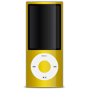 Ipod yellow apple