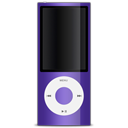 Purple apple ipod