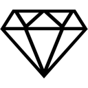 Ruby diamond gem