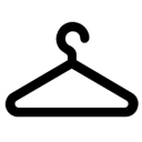 Wardrobe clothing hanger