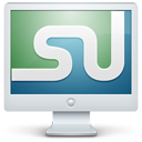 Screen stumbleupon monitor