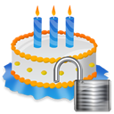 Unlock cake birthday