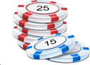 Game casino chips poker