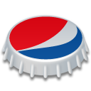 Bottle cap pepsi cap