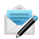 Mail envelope compose newsletter email
