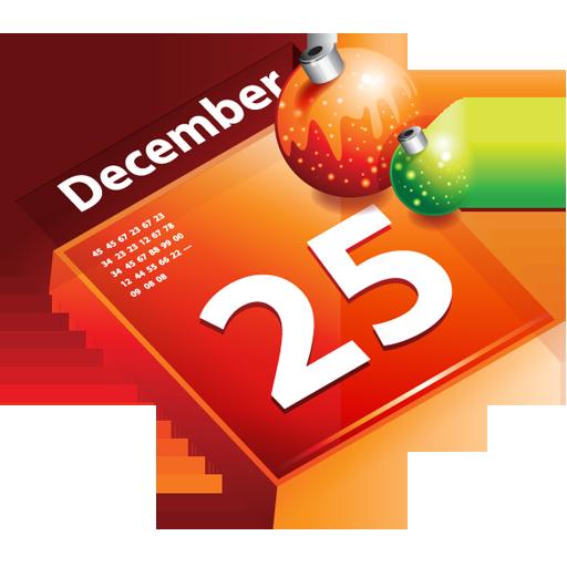 Christmas December December 25 Calendar / Dellixmas / 128px / Icon ...