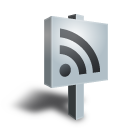 Grey sign rss feed