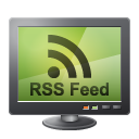 Rss feed monitor screen