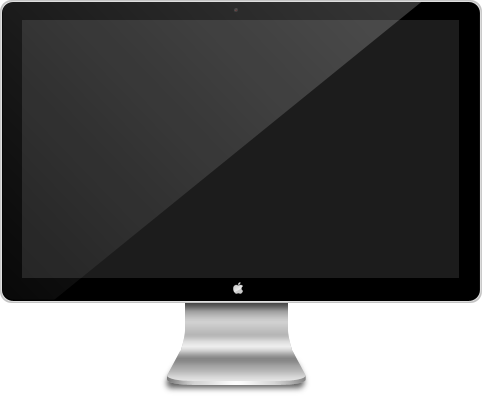 Monitor Apple Screen Cinema Display / Apple Icon SuperPack ...