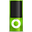 Ipod nano apple green