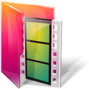 Folders movies icontexto aurora