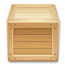 Shipment wood inventory box