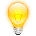 Tip idea light bulb