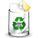 Recycle bin trashcan full
