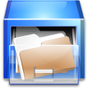 File-manager drawer
