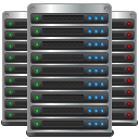 Data center servers hosting cloud computing datacenter server
