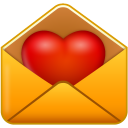 Valentines day heart email love