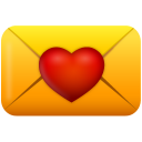 Email love heart valentines day