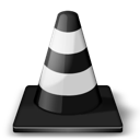 Traffic cone player whack vlc