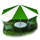 Picnic beach umbrella