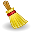 Sweep broom brush clear