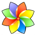 Color browser flower