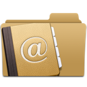 Address contacts folder