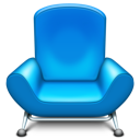 Chair front row furniture