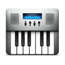 Midi keyboard audio