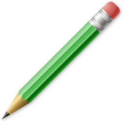 Write & erase edit write pencil