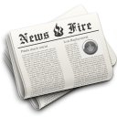 News newspaper hot fire