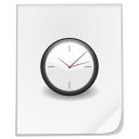 Clock temporary file time