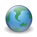 Internet earth browser world