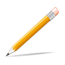 Edit pencil write