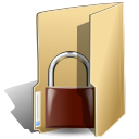 Folder security locked