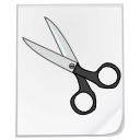 File scissors cut