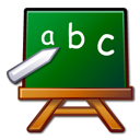 Chalkboard school abc edutainment package learn