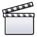 Movie media film clapboard video