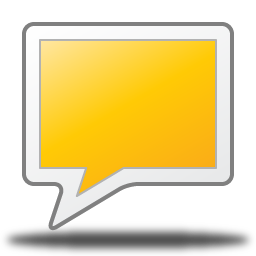 Rect Talk Comment Chat Origami 256px Icon Gallery
