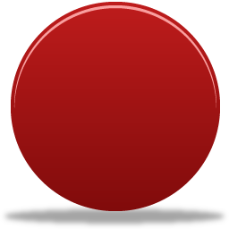 Traffic light circle red