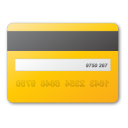 Card yellow credit